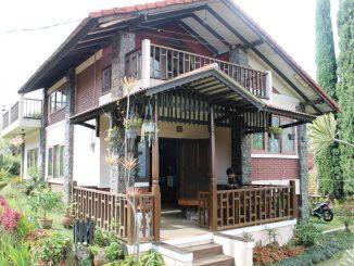 Villa Trini Blok E No 6,8 VIB Lembang, villa istana bunga