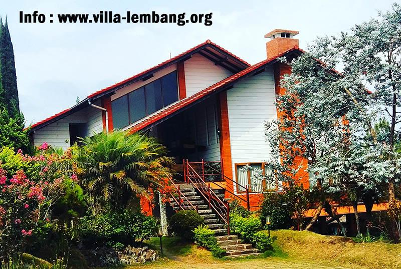 Villa istana bunga lembang, sewa villa di lembang, villa lembang