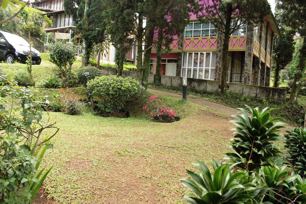 sewa villa istana bunga 1 kamar lembang