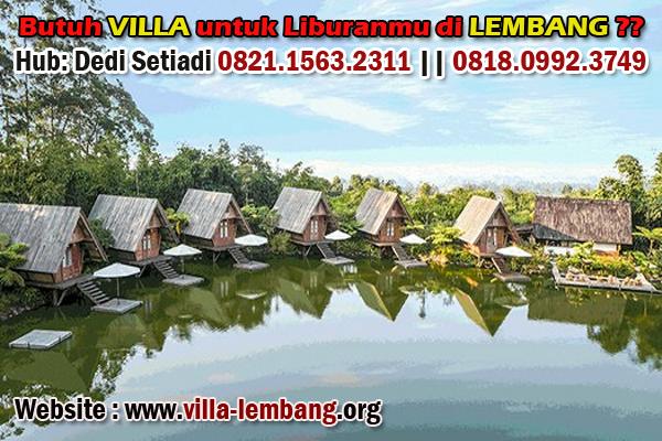 wisata dusun bambu lembang, penginapan lembang, sewa villa lembang