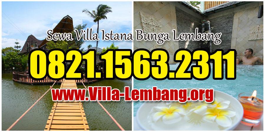 Villa di Lembang Dengan Kolam Air Panas