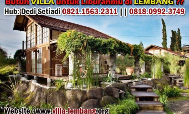 sewa villa lembang dekat tempat wisata