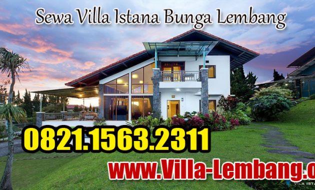 villa istana bunga, villa di lembang