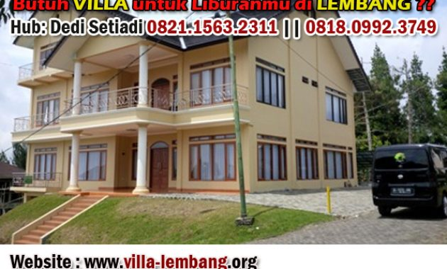 Sewa Villa Kapasitas Sampai 100 Orang Di Lembang Bandung
