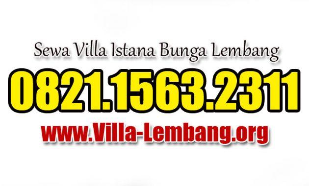 Villa Lembang, Sewa Villa Lembang, Villa di Lembang