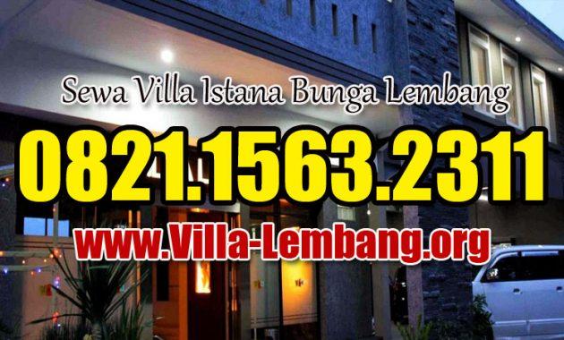 Villa Lemon Bandung barat, sewa villa lembang, harga penginapan villa lemon