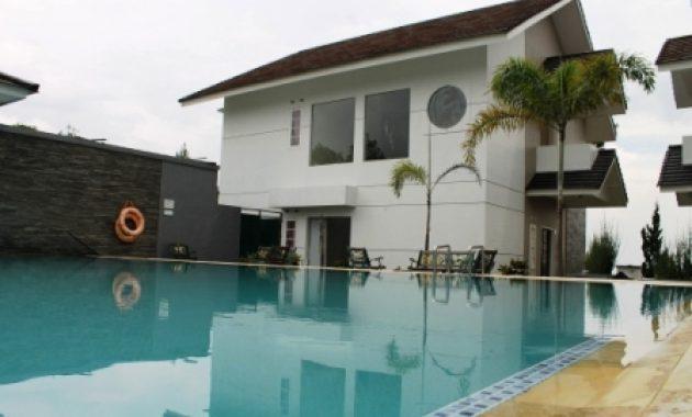 Villa Fasilitas Kolam Renang Villa Bening Type A lembang, sewa villa lembang