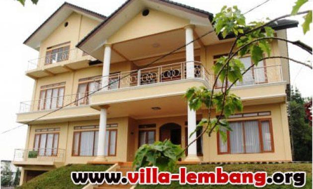 Villa Kapasitas 31 Orang di Lembang