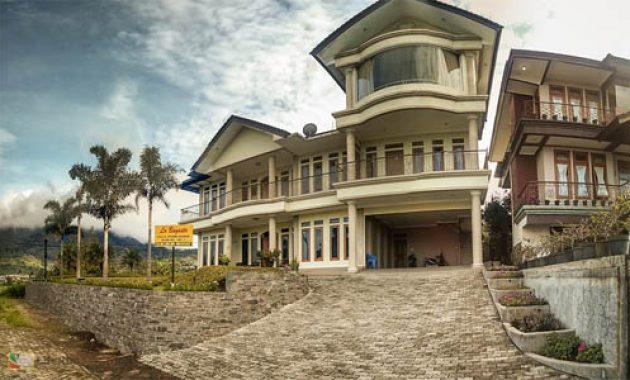 sewa villa di lembang untuk family gathering murah