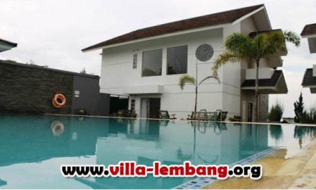 villa bening a, sewa villa di lembang