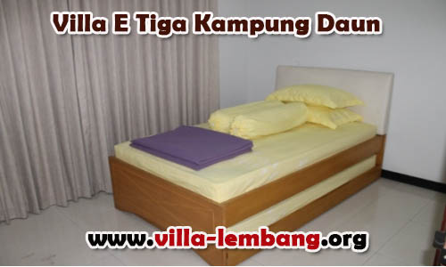 Sewa Villa Lembang 1 Kamar