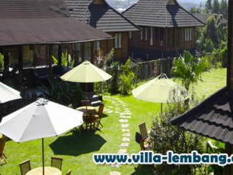 villa gardenia lembang, sewa villa di lembang